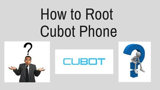 root cubot Phone